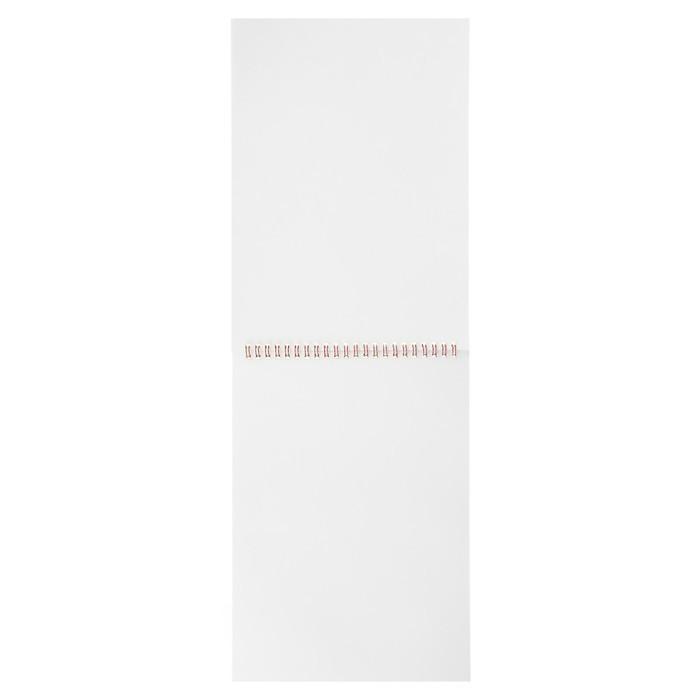 Альбом для рисования А4, 40 листов на гребне Calligrata «Фламинго на розовом», обложка мелованный картон, блок 100 г/м?