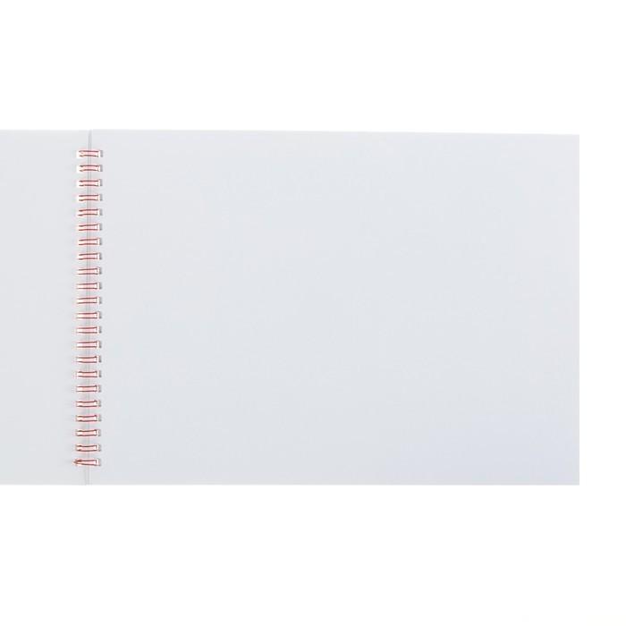 Альбом для рисования А4, 40 листов на гребне Calligrata «Смайл», обложка мелованный картон, блок 100 г/м?