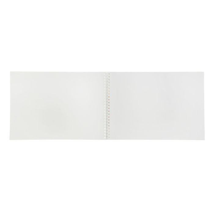 Альбом для рисования А4, 40 листов на гребне «Фиксики», обложка картон 235 г/м2, блок офсет 100 г/м2