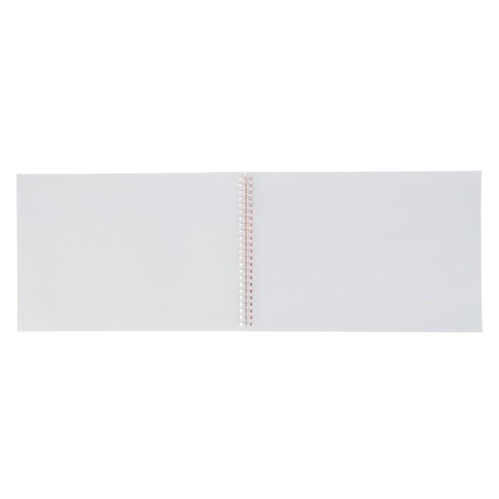 Альбом для рисования А4, 32 листа на гребне «Яркие внедорожники», мелованный картон, выборочный лак, МИКС