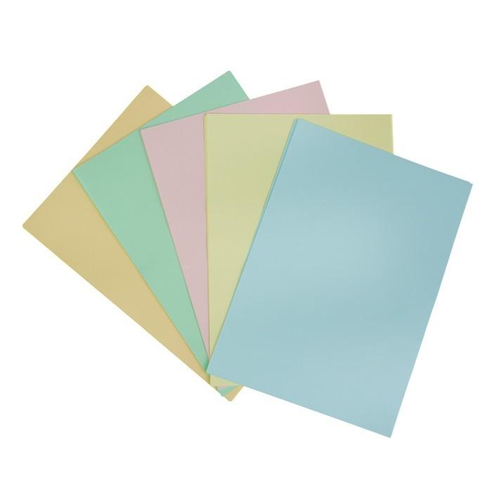 Бумага цветная А4, 50 листов
