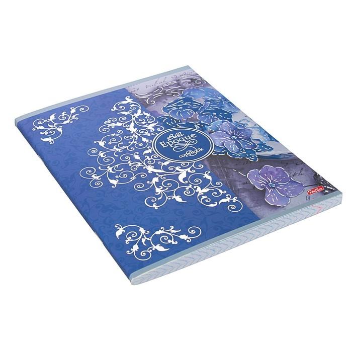 Тетрадь 96 листов клетка «Прекрасная эпоха», обложка мелованный картон, матовая ламинация, 3D-фольга