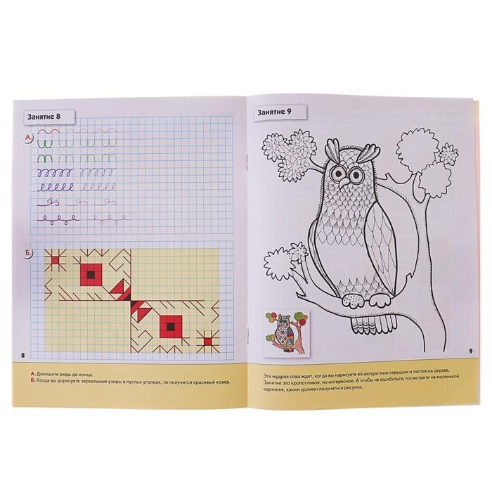 Рабочая тетрадь «Прописи для дошкольников» (подготовительная группа). Денисова Д., Дорожин Ю.