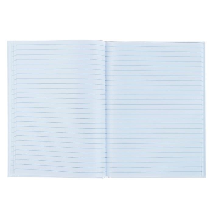 Книга учета, 96 листов, линейка, обложка твёрдая 7БЦ, блок Офсет