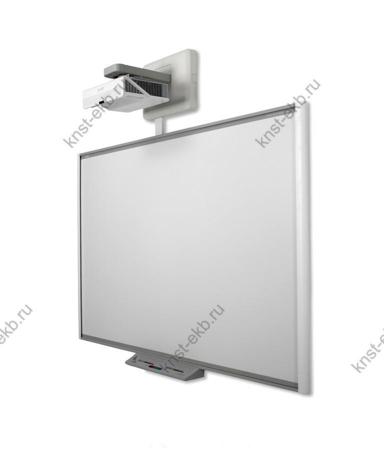 Комплект SBM685i7: интерактивная доска SMART Board SBM685 6 касаний без лотка ПРТ-576