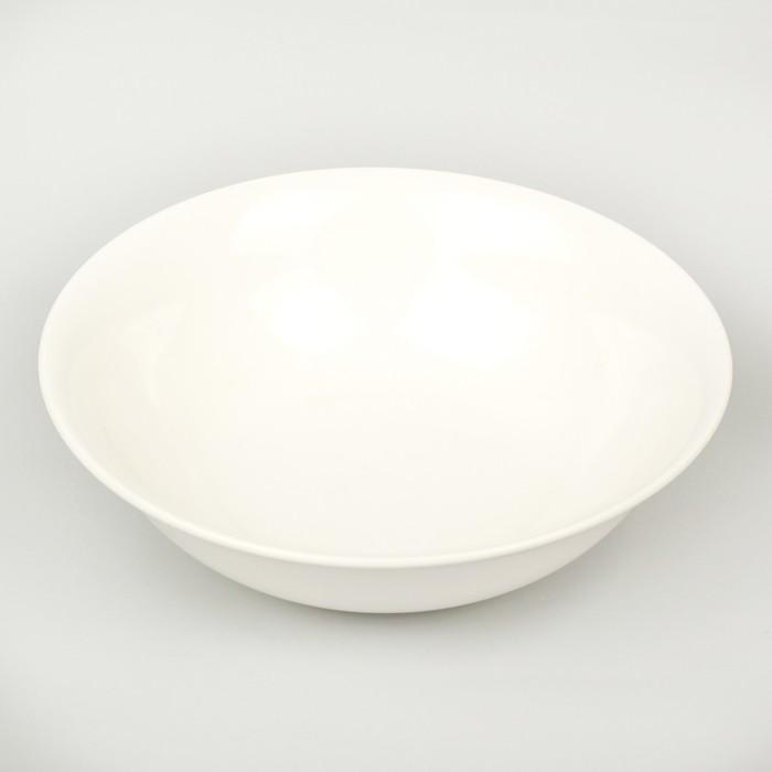 Тарелка глубокая «White Label» 1500 мл, 22,5?22,5?7 см, цвет белый