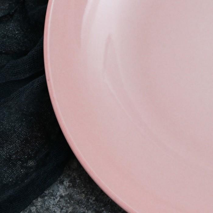 Тарелка Siesta, 31 см, розовый 1 сорт