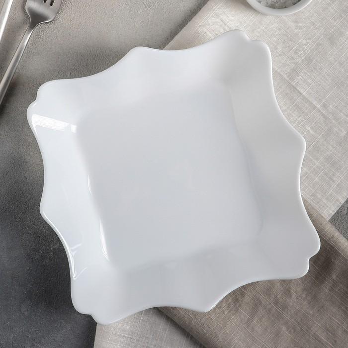 Тарелка суповая 22 см, 600 мл, Authentic White