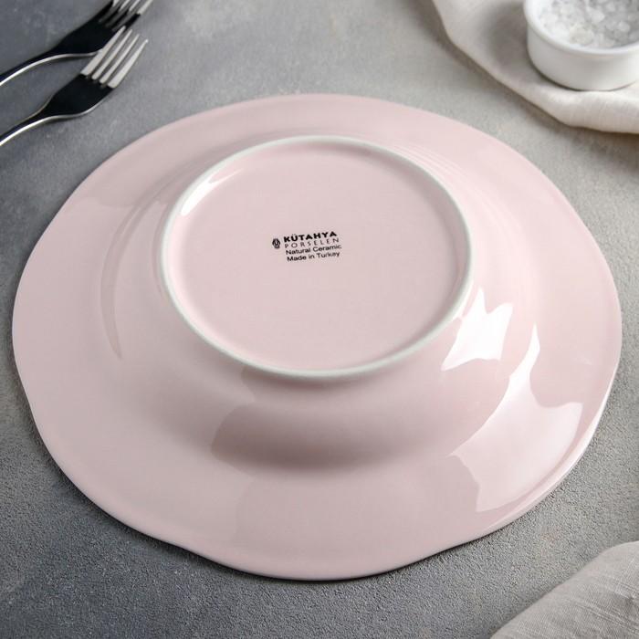 Тарелка глубокая 600 мл Fulya, 24 см, цвет кремовый
