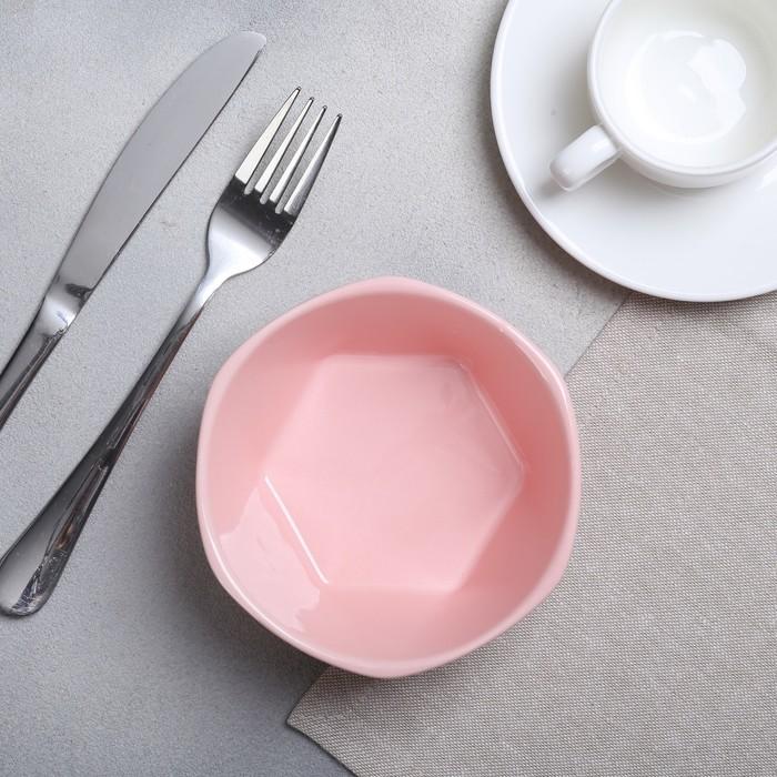 Миска «Розовая», O 13 см