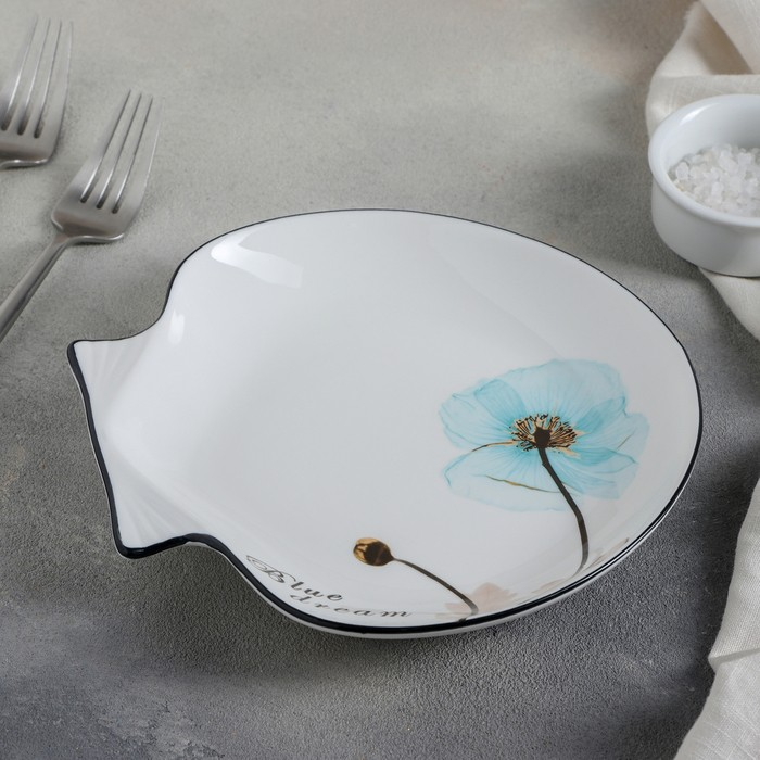Тарелка сервировочная «Голубая мечта», 19?3 см