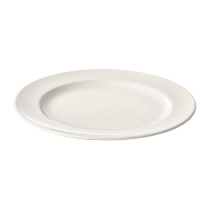 Тарелка, белый ВАРДАГЕН