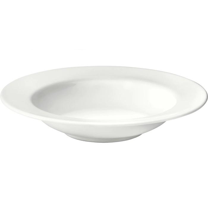 Тарелка глубокая ВАРДАГЕН, 23 см, белый с оттенком