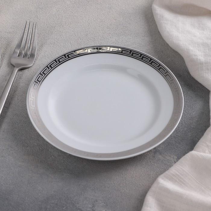 Тарелка 17 см мелкая