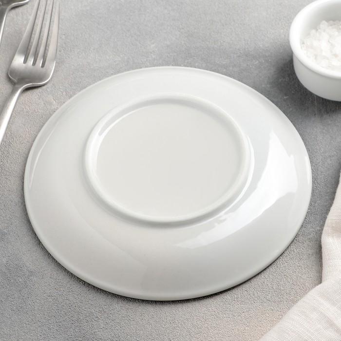Тарелка пирожковая «Виньетка», 16,5?2,5 см