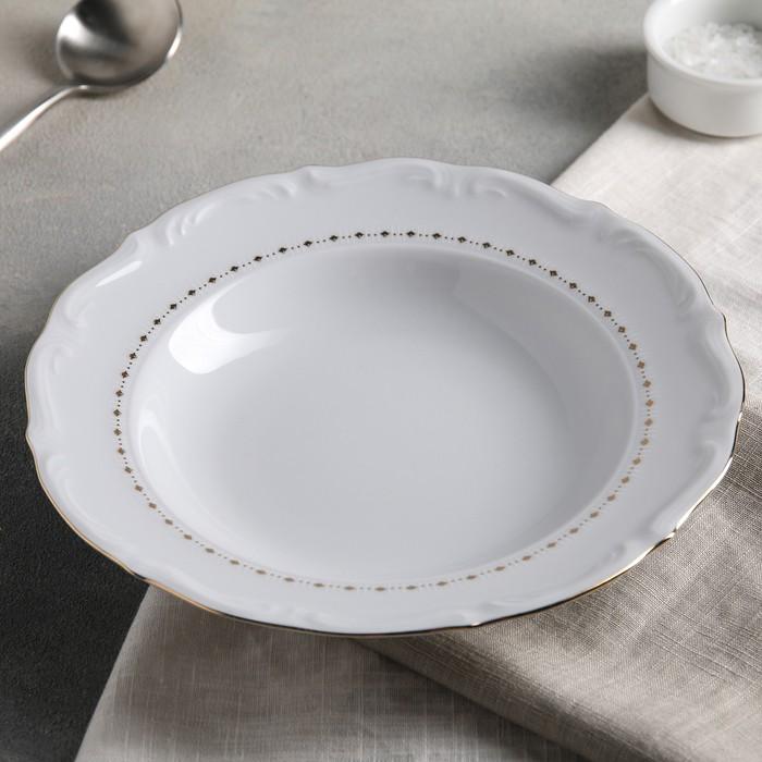 Тарелка суповая 600 мл Maria-teresa, 22,5 см
