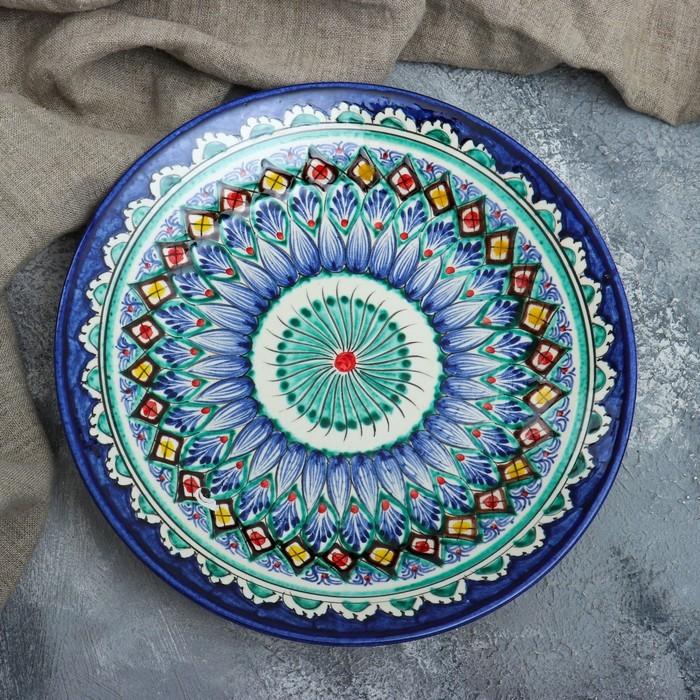 Тарелка плоская 25см микс