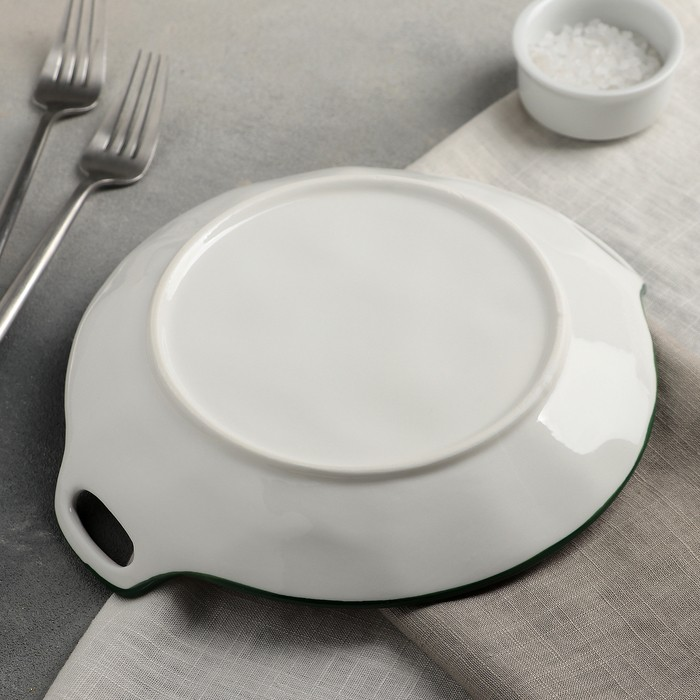 Блюдо круглое «Вишенки», 24?21?3 см