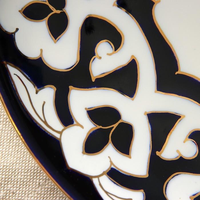 Тарелка круглая «Пахта в золоте», 22 см