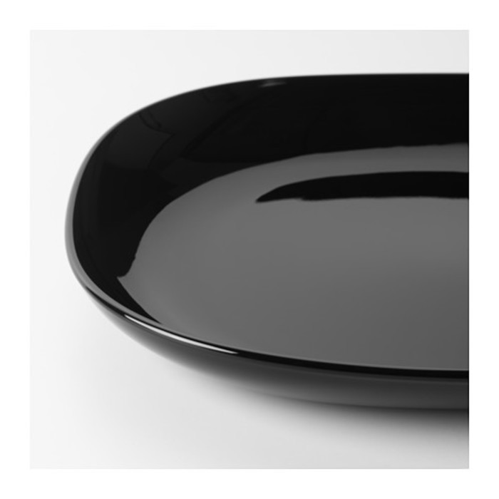 Тарелка, черный БАККИГ