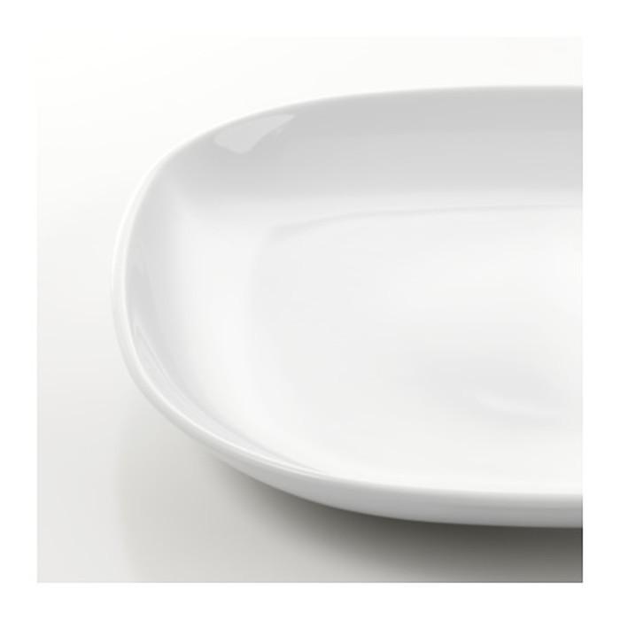 Тарелка, белый ВЭРДЕРА