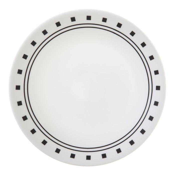 Тарелка десертная City Block, диаметр 17 см