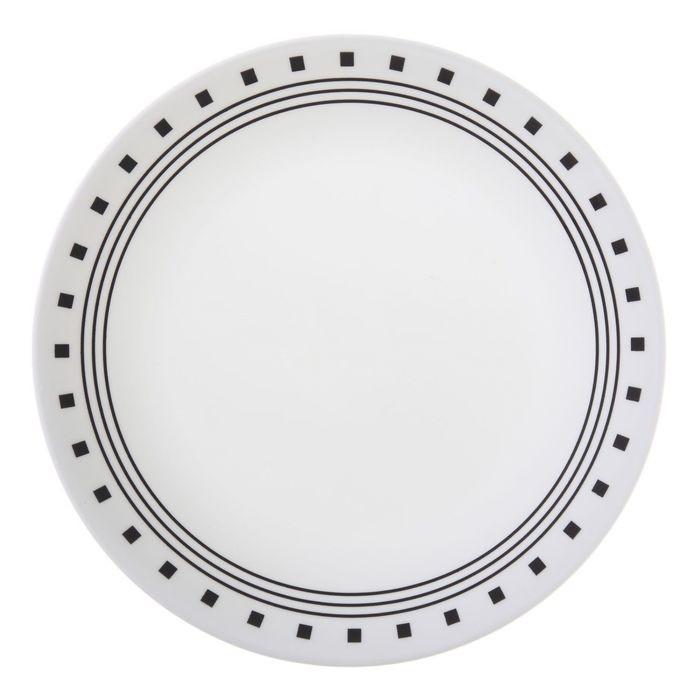 Тарелка закусочная City Block, диаметр 22 см