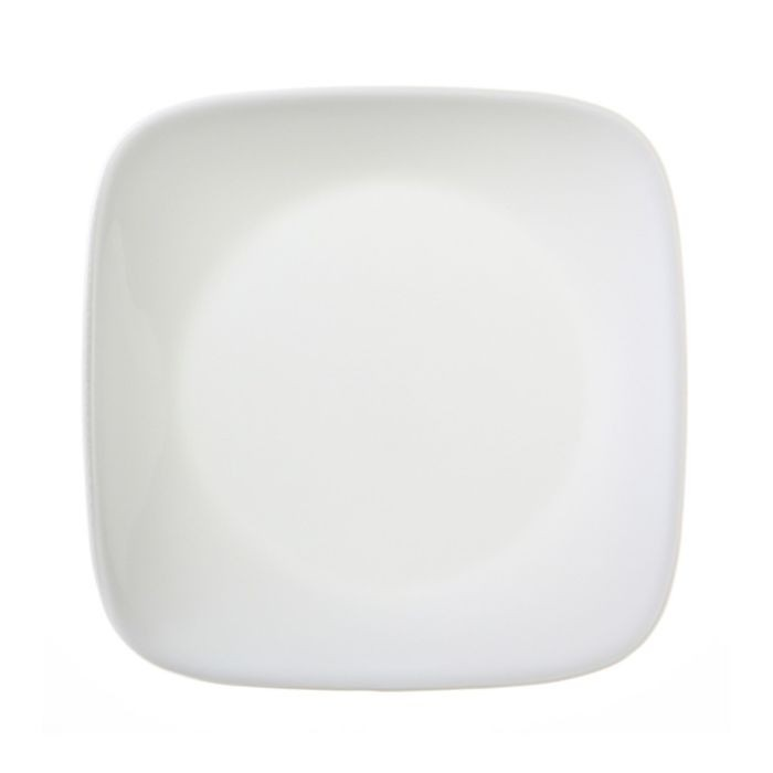 Тарелка десертная Pure White, размер 17 см