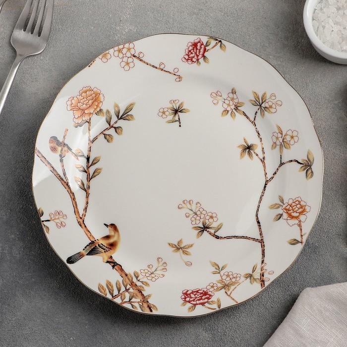 Тарелка десернтая «Романтичный день», 21 см