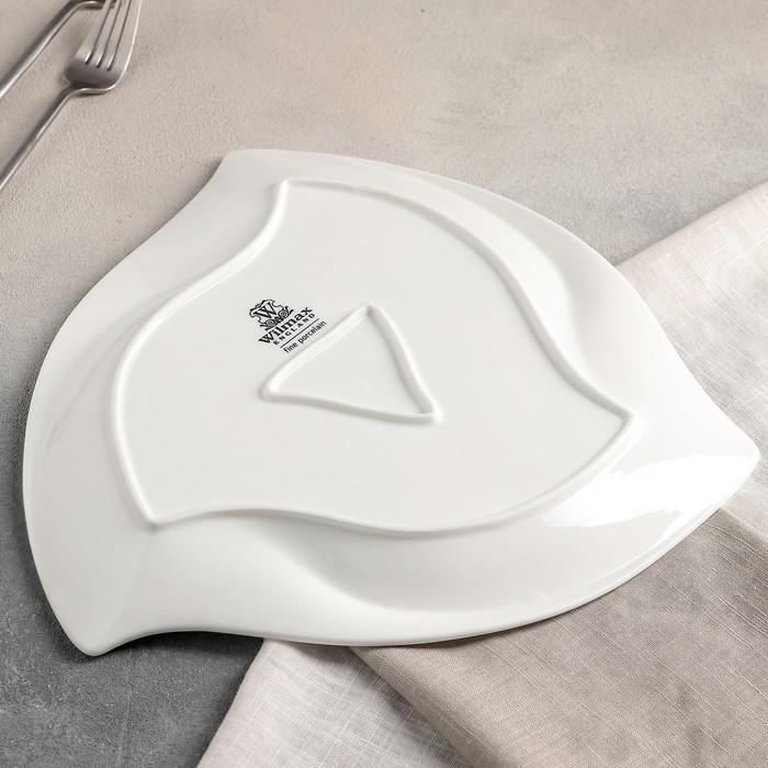 Тарелка треугольная 30 см, WL-991276 / A