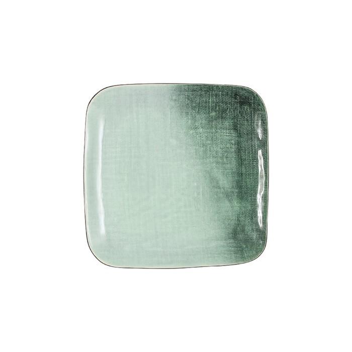 Тарелка закусочная квадратная Canvas 21,5 см