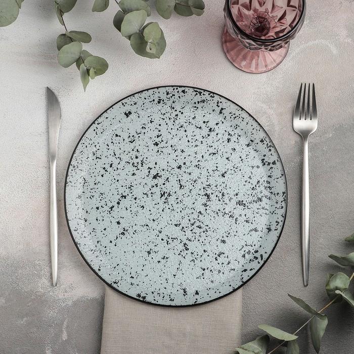 Тарелка обеденная «Мрамор», 24,5 см