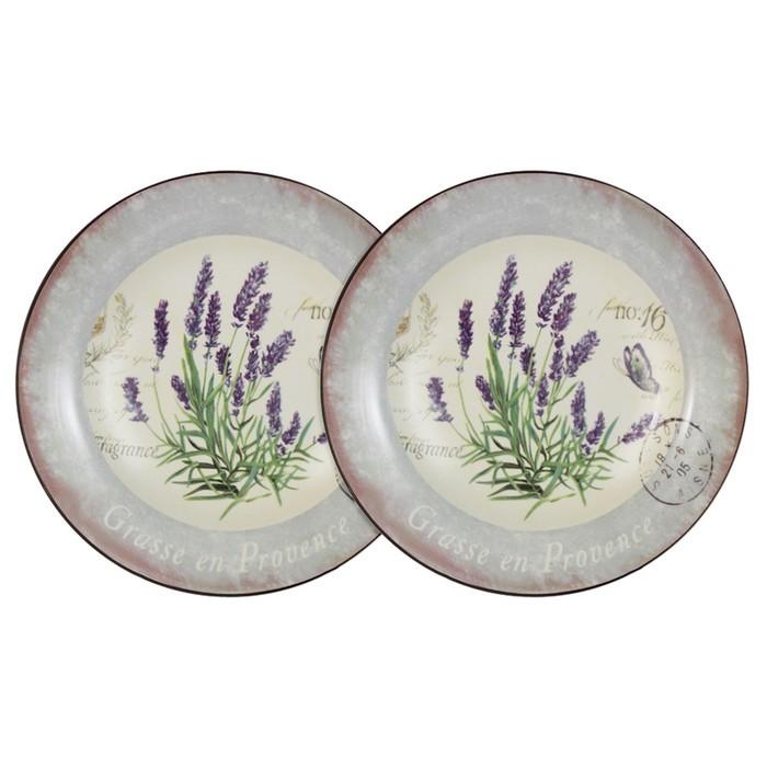 Набор из 2-х суповых тарелок «Лаванда»