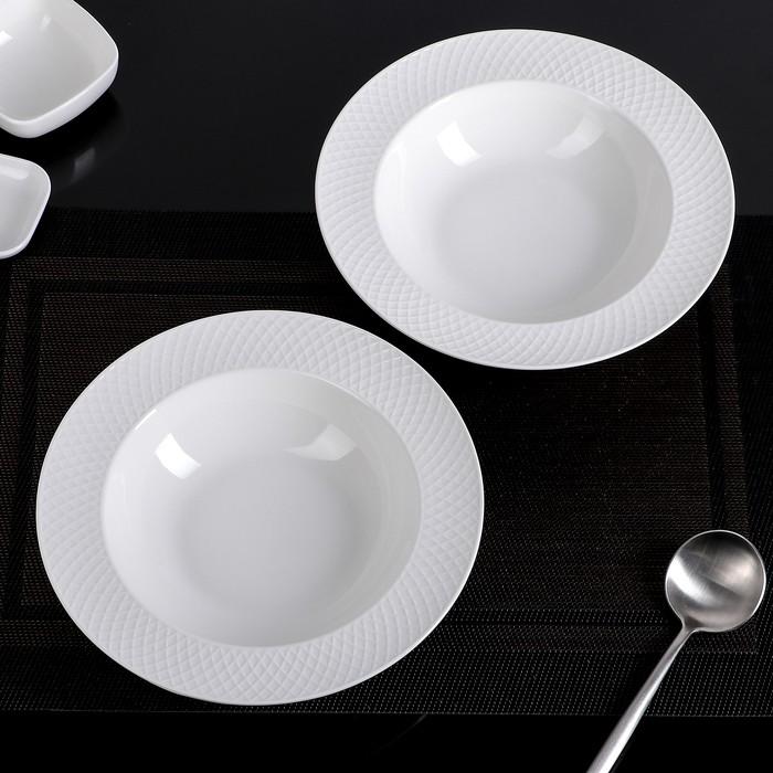 Набор глубоких тарелок 22,5 см
