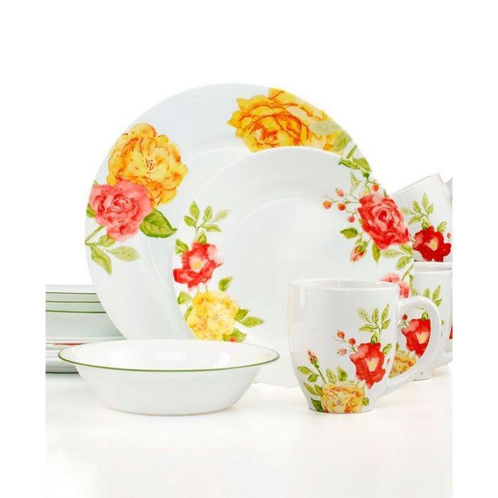 Тарелка закусочная Emma Jane, диаметр 22 см