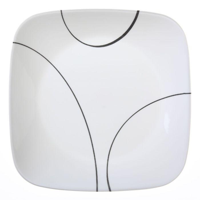 Тарелка закусочная Simple Lines, размер 22 см