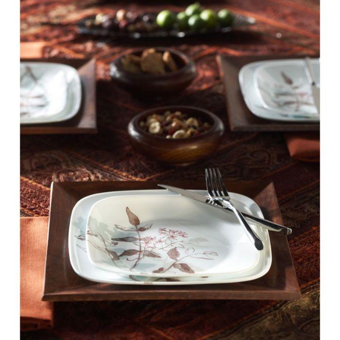 Тарелка закусочная Twilight Grove, размер 22 см