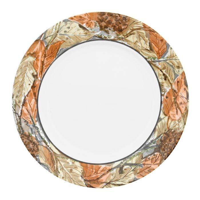 Тарелка обеденная Woodland Leaves, диаметр 27 см