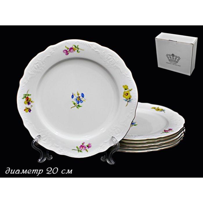 Набор 6 тарелок Blumen, в подарочной упаковке