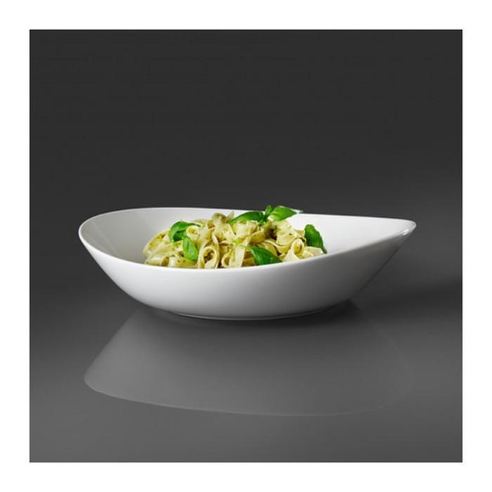 Набор тарелок глубоких, белый ШИН 2 шт