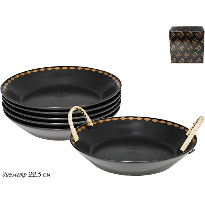 Набор Tekito из 6 глубоких тарелок