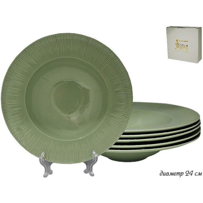 Набор Greenwhite из 6 глубоких тарелок