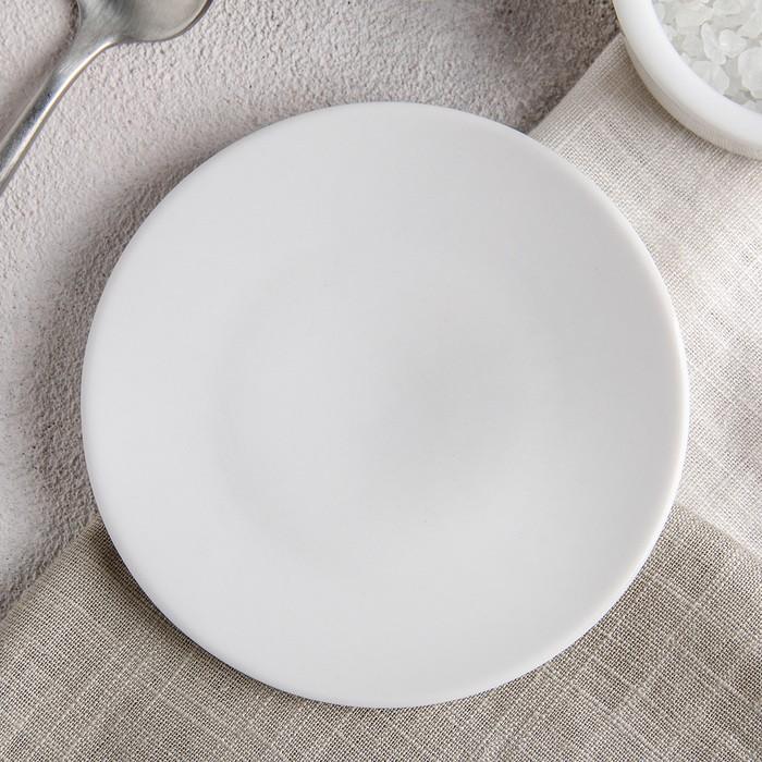 Блюдце «Бельё», d=10 см, цвет белый