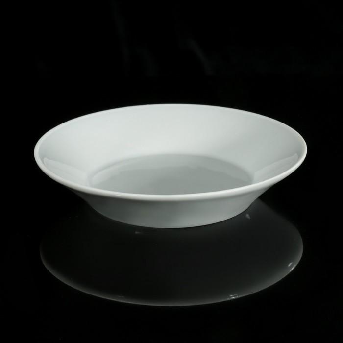 Блюдце «Бельё» 160 мл, d=14 см, цвет белый