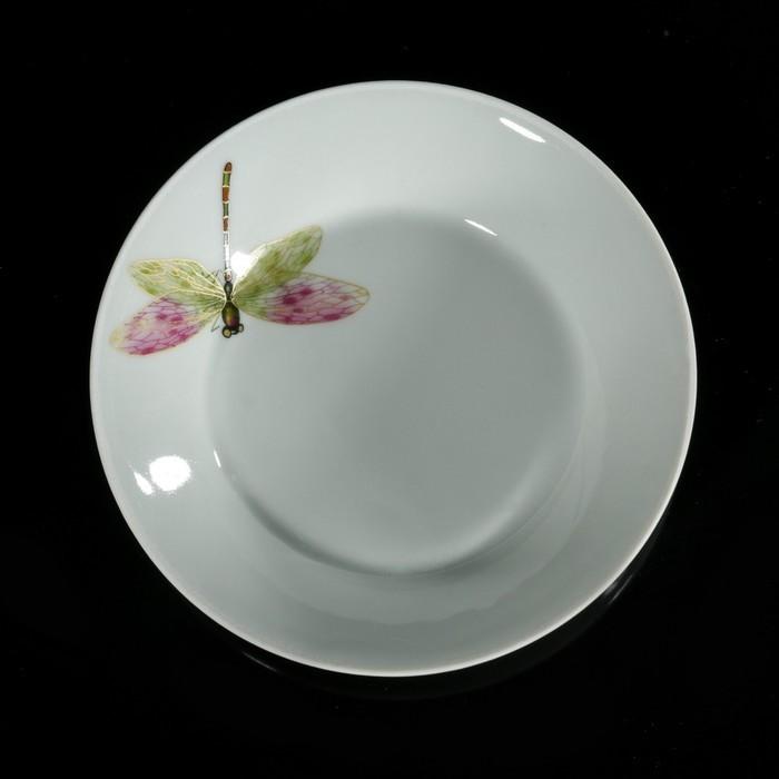 Блюдце «Стрекоза» 165 мл, d=14 см