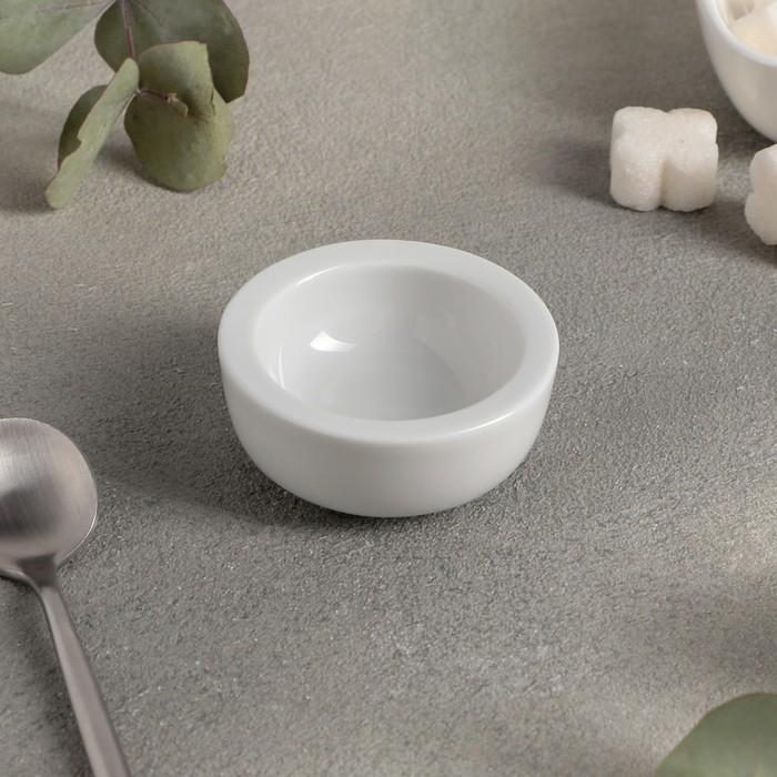 Ёмкость для джема «Soley», d=6 см, цвет белый