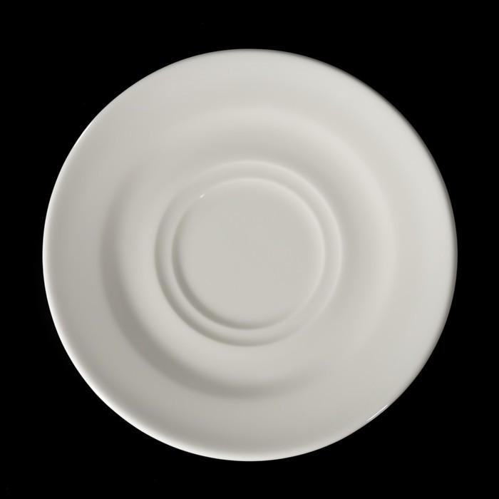 Блюдце «Banquet», d=17 см, цвет белый