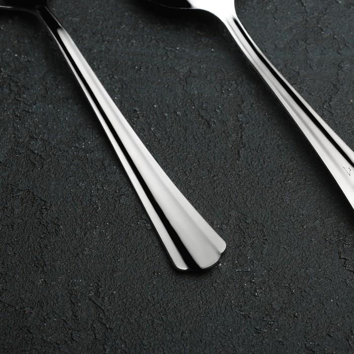 Ложка столовая «Новинка», h=20 см, толщина 1,2 мм, упрощённая обработка