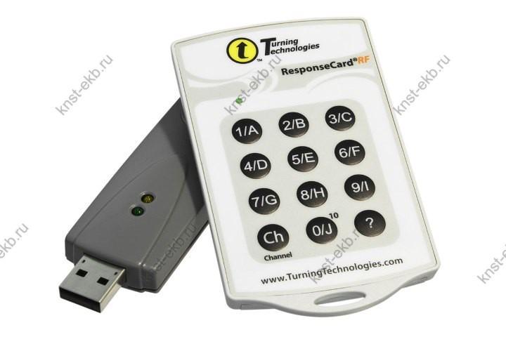 Радиочастотный пульт Turning Technologies ResponseCard RF (RFC-02) ПРТ-417