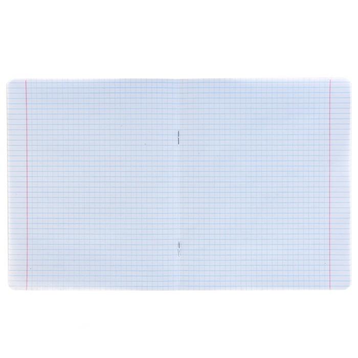Тетрадь 48 листов клетка «Арт-Деко», обложка мелованный картон, тиснение фольгой, матовая ламинация